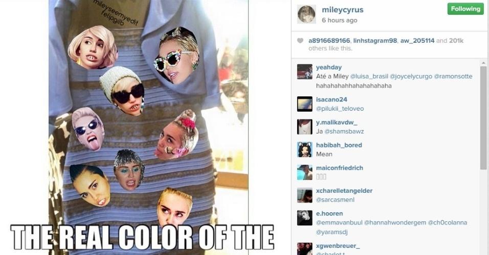 27.fev.2015 - Já os fãs da Miley Cyrus veem (tudo) dessa forma