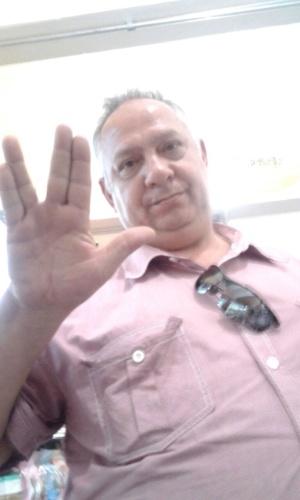 Gerson, de Jaçanã (SP), também mandou sua saudação vulcana para homenagear Nimoy