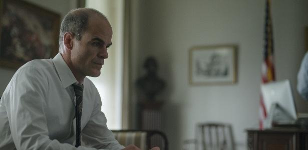 """Michael Kelly, ator que interpreta Doug Stamper na série """"House of Cards"""""""
