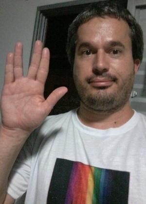 """""""Nimoy era Spock. Ele nasceu para interpretá-lo. Vida longa e próspera a ele"""", declara Diogo Cunha, de Florianópolis (SC)"""