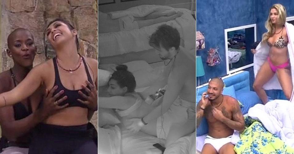 "Participantes do ""BBB15"" protagonizam cenas mais sensuais que ""50 Tons de Cinza"""