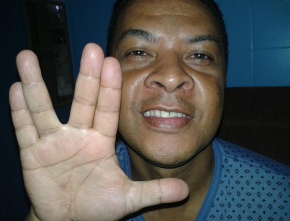 """""""Salve, Spock. Você fez parte da minha juventude"""", diz Eduardo Dias, de São Paulo (SP)"""