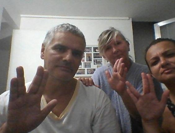 """Vivian, Ivo e Neusa Lisboa prestam tributo: """"O espaço nunca mais será o mesmo. RIP Spock"""""""
