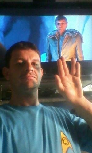 """""""A necessidade de muitos prevalecem a necessidade de poucos, ou de um"""" LLAP Mr. Spock. Sempre Fui e sempre serei seu amigo..."""" diz Wanderson Françosa, de Riberão Preto (SP)."""