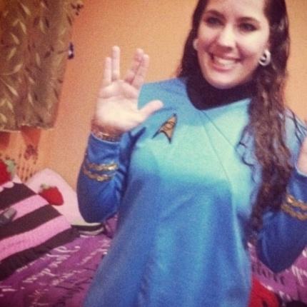 """""""Como Spock disse ao Kirk antes de morrer, no filme; 'I have been, and always shall, be your friend'."""" diz Juliana Borges, de São Paulo (SP)"""