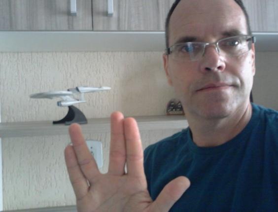 """""""Mais um para subir, Sr. Scotty."""" diz Wagner Corazza, de São Paulo (SP)"""
