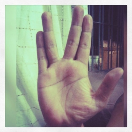 """""""RIP Spock"""" diz Sidney Santana, de São Paulo (SP)."""