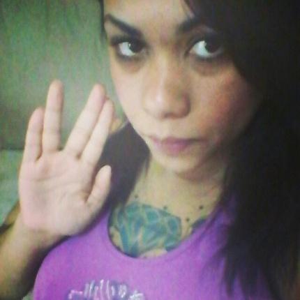 """""""Saudações para o #eterno Sr. Spock"""" diz Zamoni da Penjha, de São Paulo (SP)."""