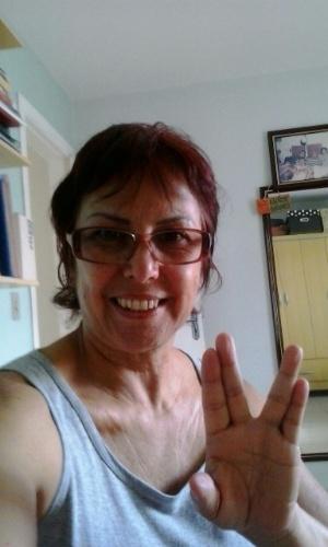 """""""Saudades, Dr.Spock!"""" diz Cleide Consorte, de São Paulo (SP)."""