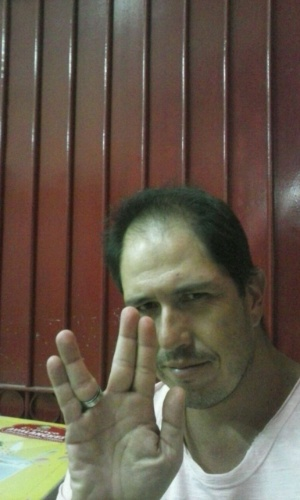 """Tributo à Leonard Nimoy"" diz Adriano Duboc, de Valenã (RJ)"