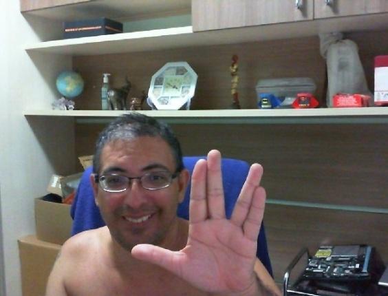 """""""vi todos os episódios da série Jornada nas Estrelas. Spock era o melhor. Vida longa e próspera..."""" diz Duca Rocha, de São Paulo (SP)."""