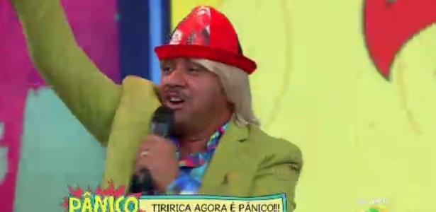 """Tiririca foi uma das novidades deste ano no """"Pânico"""""""