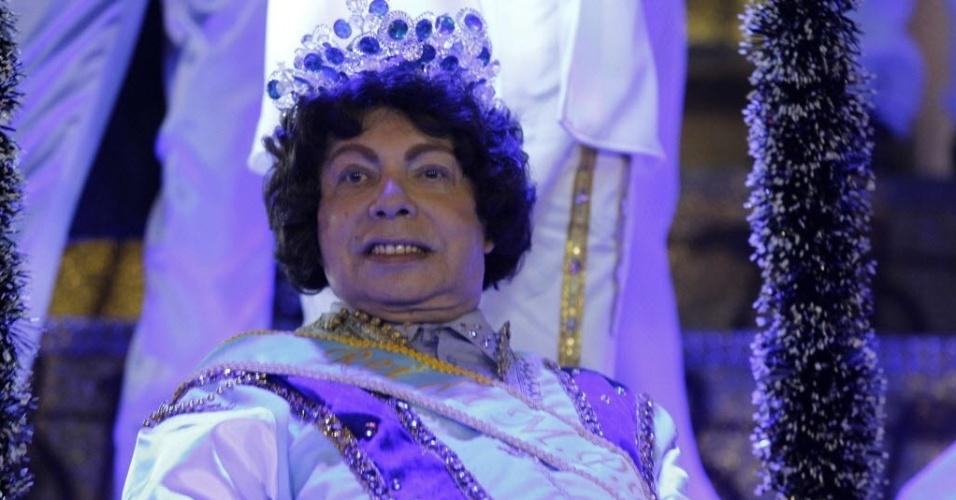 Cauby Peixoto desfilou pela escola Águia de Ouro, durante o Carnaval de 2012. O cantor foi destaque de um dos carros alegóricos da agramiação.