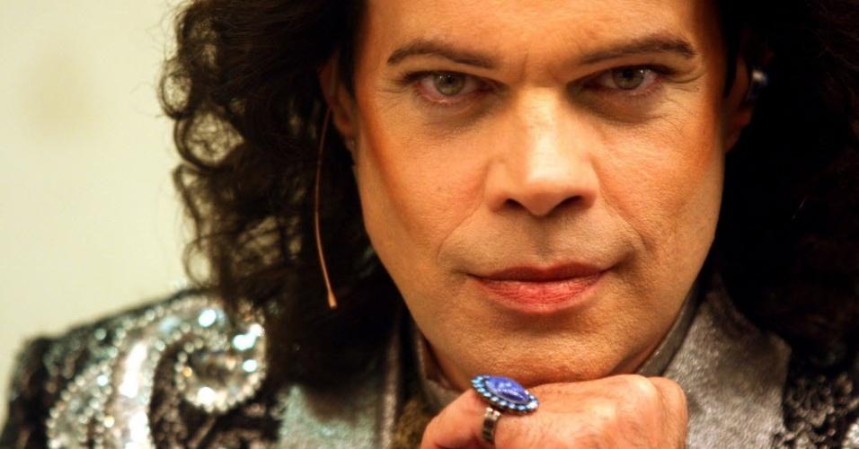 O ator Diogo Vilela estreiou peça sobre a vida de Cauby Peixoto, no Teatro Sesc, no Rio de Janeiro, em 2006.