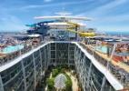 Maior navio de cruzeiro do mundo irá superar a altura da torre Eiffel; veja - Divulgação/Royal Caribbean