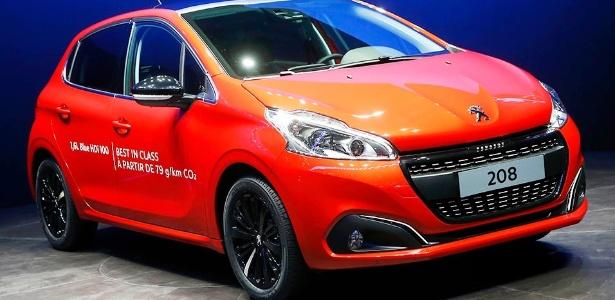 Levemente reestilizada, nova linha do Peugeot 208 estará no Brasil em 2016 - Arnd Wiegmann/Reuters