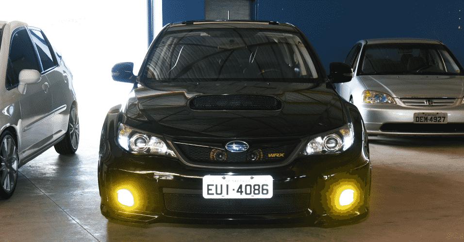 Subaru WRX 2011, de Oswaldo Fugihara, de São Paulo, SP,  no 6º Encontro JDM Motors, em Socorro, SP - Murilo Góes/UOL