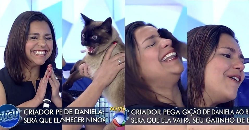 3.mar.2015 - Daniela, convidada do programa
