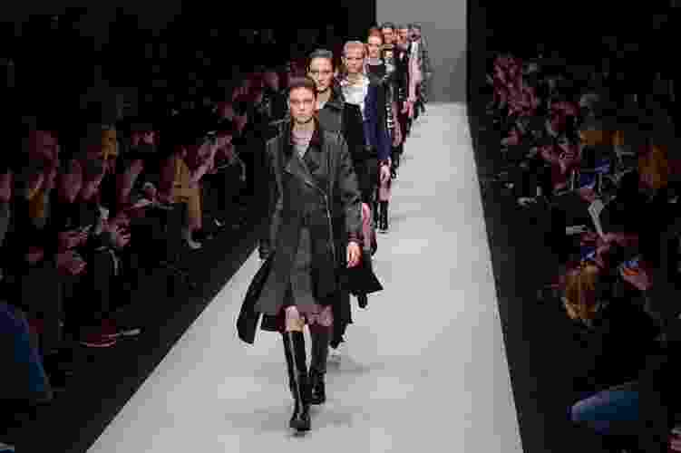 4.mar.2015 - Guy Laroche desfila sua coleção para o Inverno 2015 durante a Semana de Moda de Paris - Getty Images