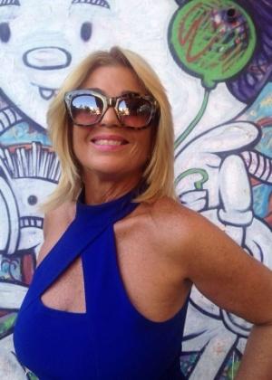 """Cida Moraes participou do """"BBB2"""" e ficou em terceiro lugar no reality show"""