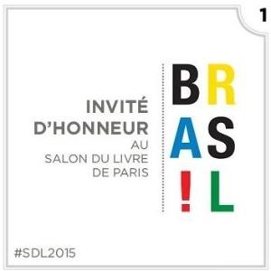Salão do Livro de Paris homenageia o Brasil - Divulgação