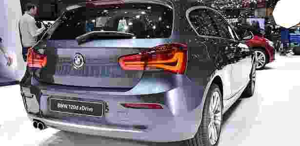 BMW Série 1 no Salão de Genebra 2015 - Divulgação - Divulgação