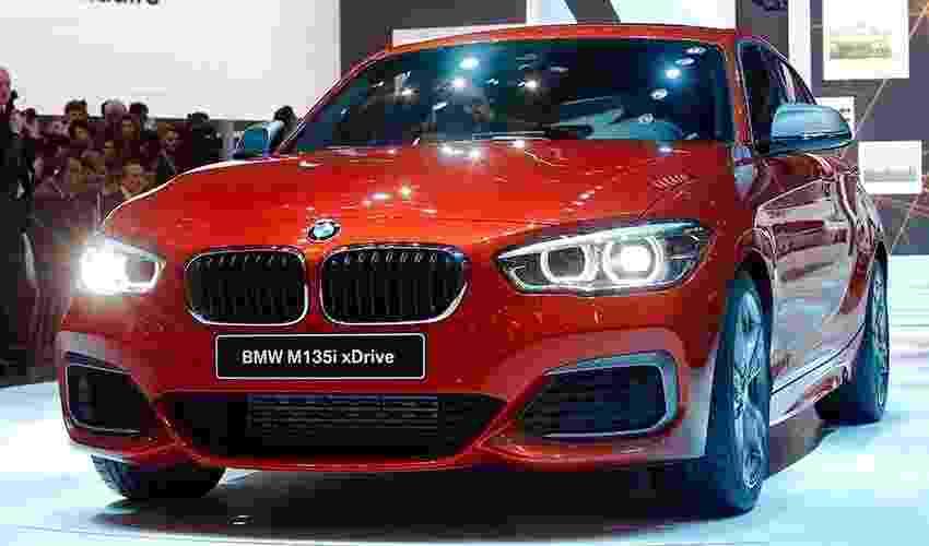 BMW Série 1 no Salão de Genebra 2015 - Arnd Wiegmann/Reuters