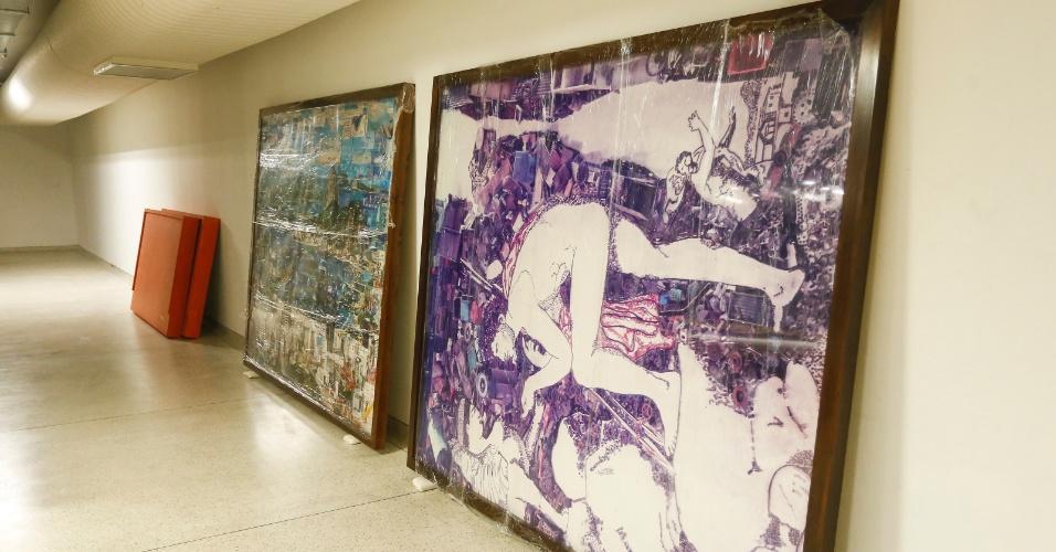 """Obra """"Pictures of Junk""""(2006), de Vik Muniz, apreendida durante a operação Lava Jato, que apura irregularidades na Petrobras, estão agora no acervo do Museu Oscar Niemeyer (MON)"""