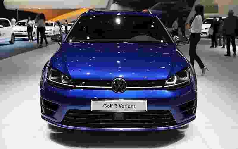 Volkswagen Golf R Variant - Divulgação