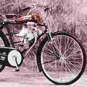 Clássica cicicleta com motor 2-tempos da Honda - Divulgação