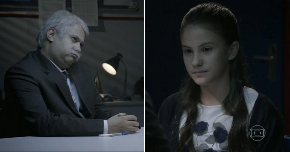 """Jorge Bevilacqua (Welder Rodrigues) e Giovanna (Giovanna Rispoli) em cena no """"Jardim Urgente"""", do Tá no Ar"""