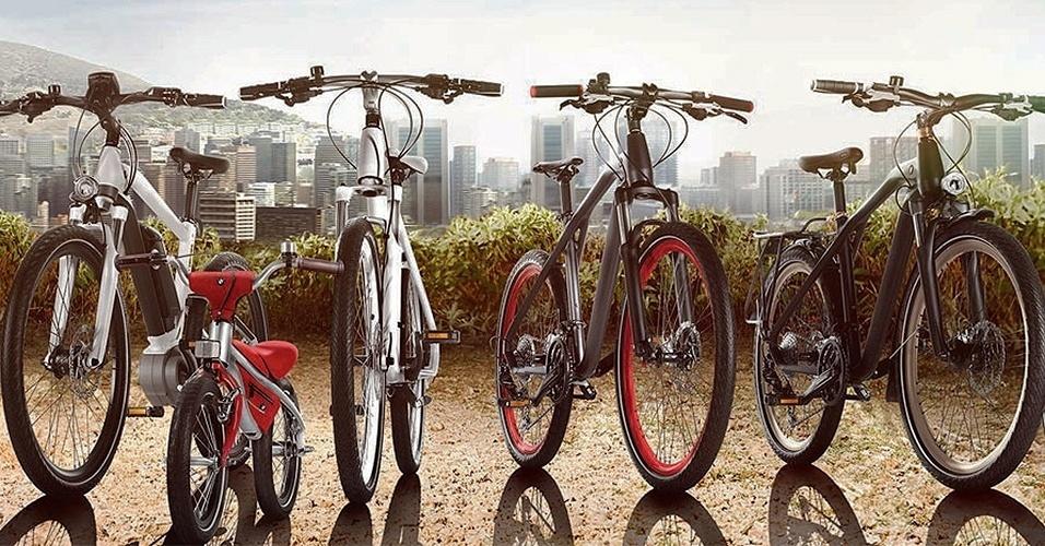 Linha de bicicletas da BMW