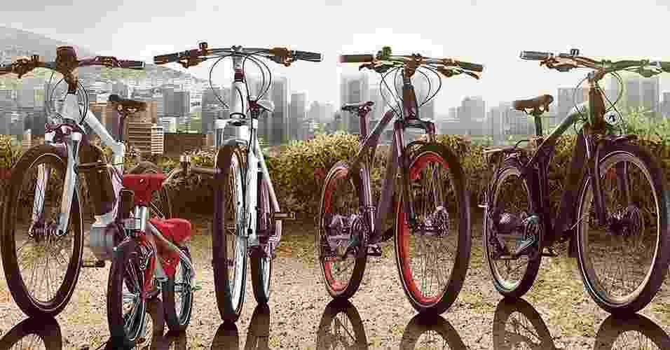 Linha de bicicletas da BMW - Divulgação
