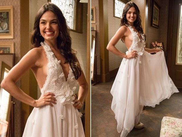 Sandra se prepara para casar com Rafael no último capítulo de