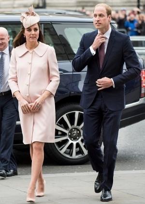 Na imagem, Kate Middleton comparece a evento em Westminster no mês de março - Mark Cuthbert/Getty Images