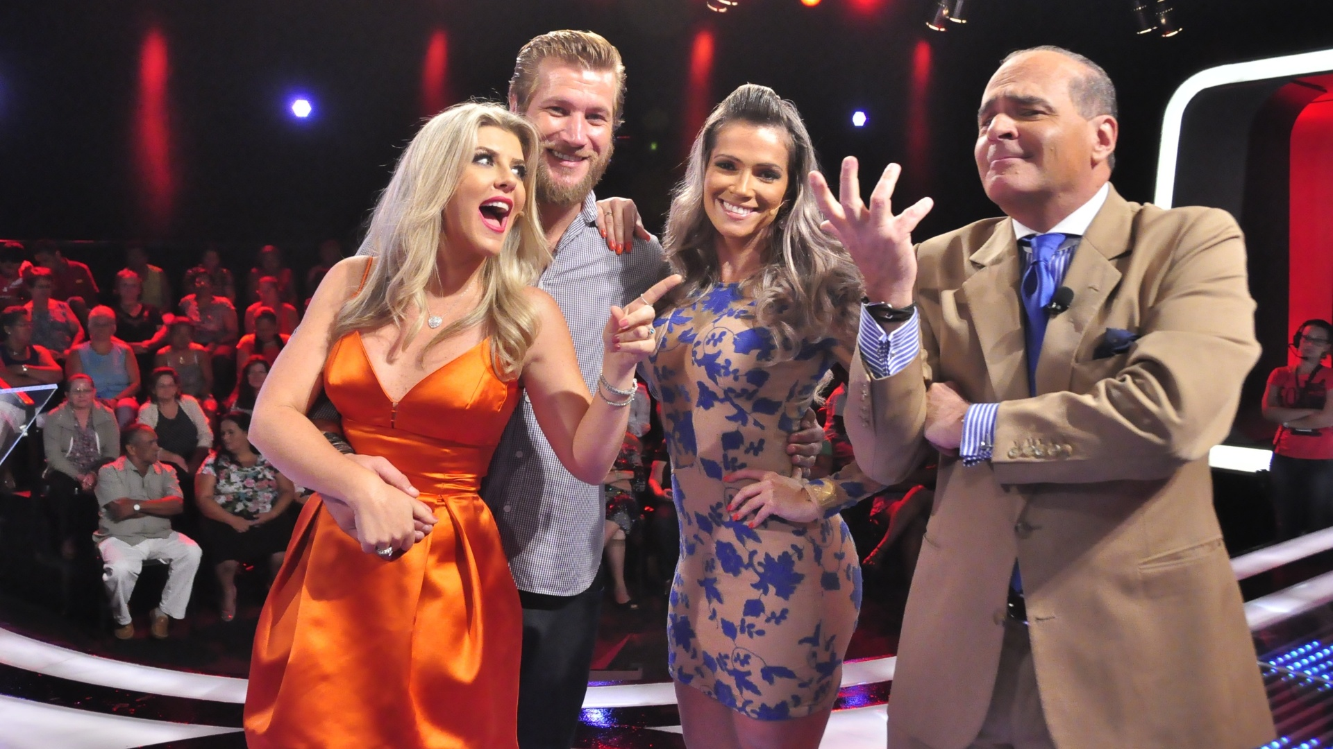 Diego Alemão, Iris Stefanelli e Fani Pacheco participam do