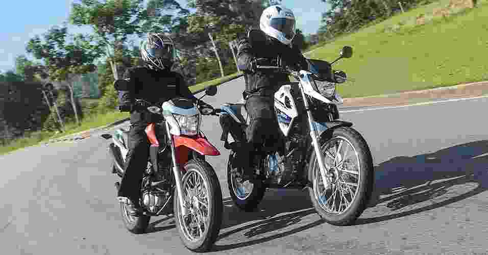 Honda NXR 160 Bros vs. Yamaha XTZ 150 Crosser - Doni Castilho/Infomoto