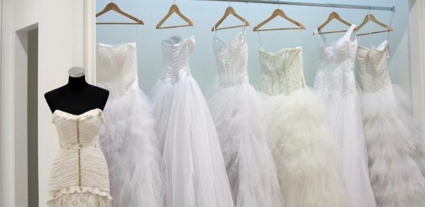 Alugar o vestido de noiva é opção para economizar e otimizar tempo