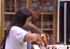 """""""Está tudo zerado entre a gente"""", diz Luan a Amanda - Reprodução / TV Globo"""