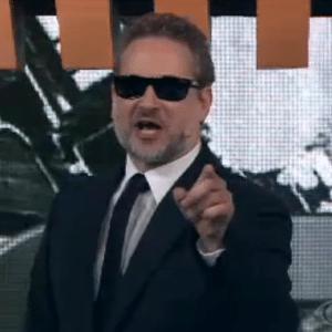 """Dan Stulbach na estreia da temporada do """"CQC"""" de 2015 - Reprodução/Band"""