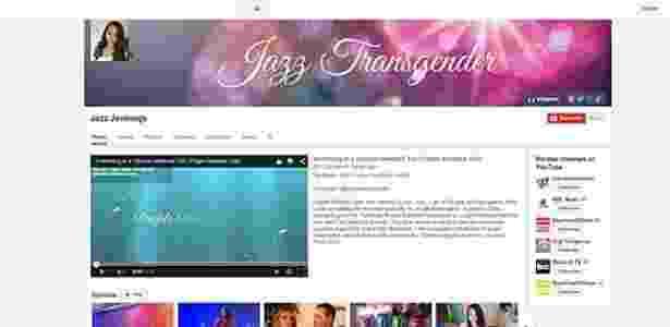 A adolescente americana Jazz Jennings é uma das transgêneros mais famosas da web - Reprodução/Youtube