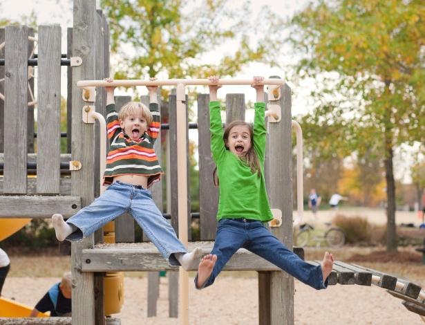 Um parque sem manutenção adequada pode ser palco de acidentes como quedas - Getty Images