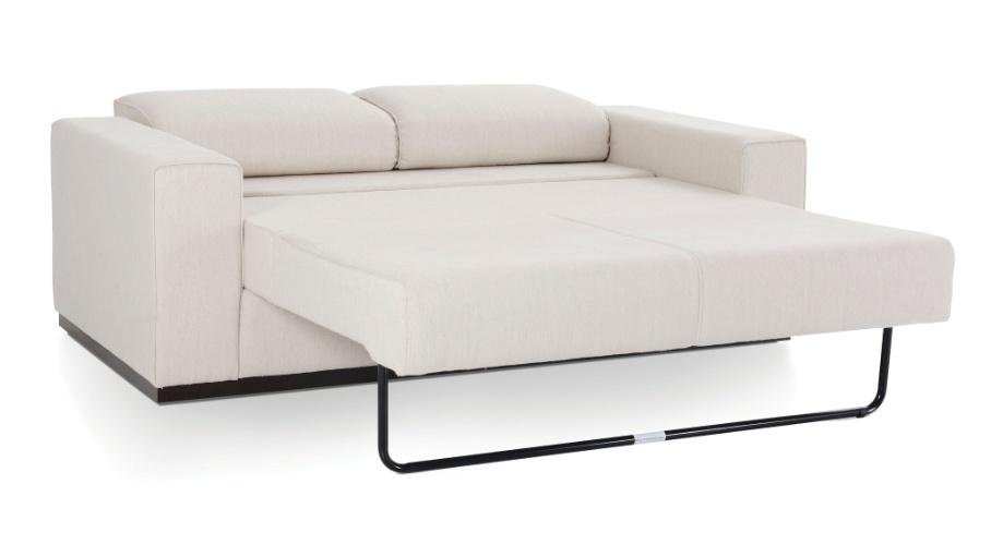 Sof cama pode ser usado em salas quartos e escrit rios for Sofas que se hacen cama