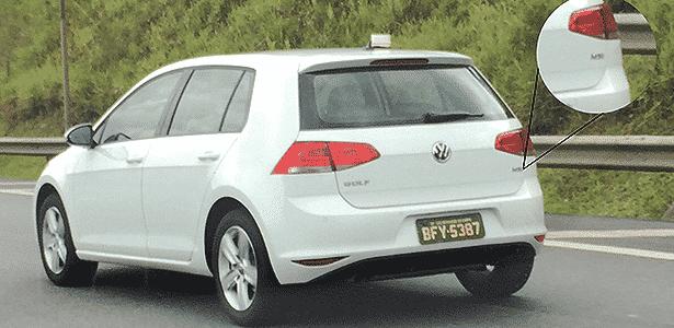 Volkswagen Golf nacional, com motor MSI de 120 cv, é flagrado em São Bernardo do Campo (SP) - Falando de Carro/Car and Driver/Reprodução - Falando de Carro/Car and Driver/Reprodução