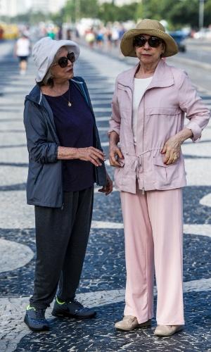 Estela (Nathalia Timberg) e Teresa (Fernanda Montenegro) são casadas há quase 40 anos e lutam contra o preconceito