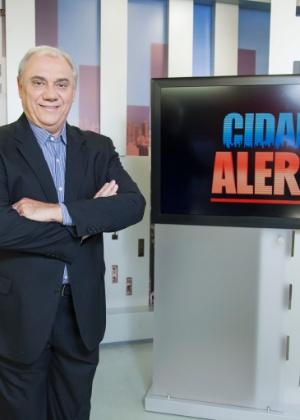 Marcelo Rezende nega que tenha brigado com Comandante Hamilton - Edu Moraes/Record