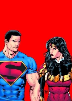 Superman e a Mulher-Maravilha  - Reprodução/Hitfix