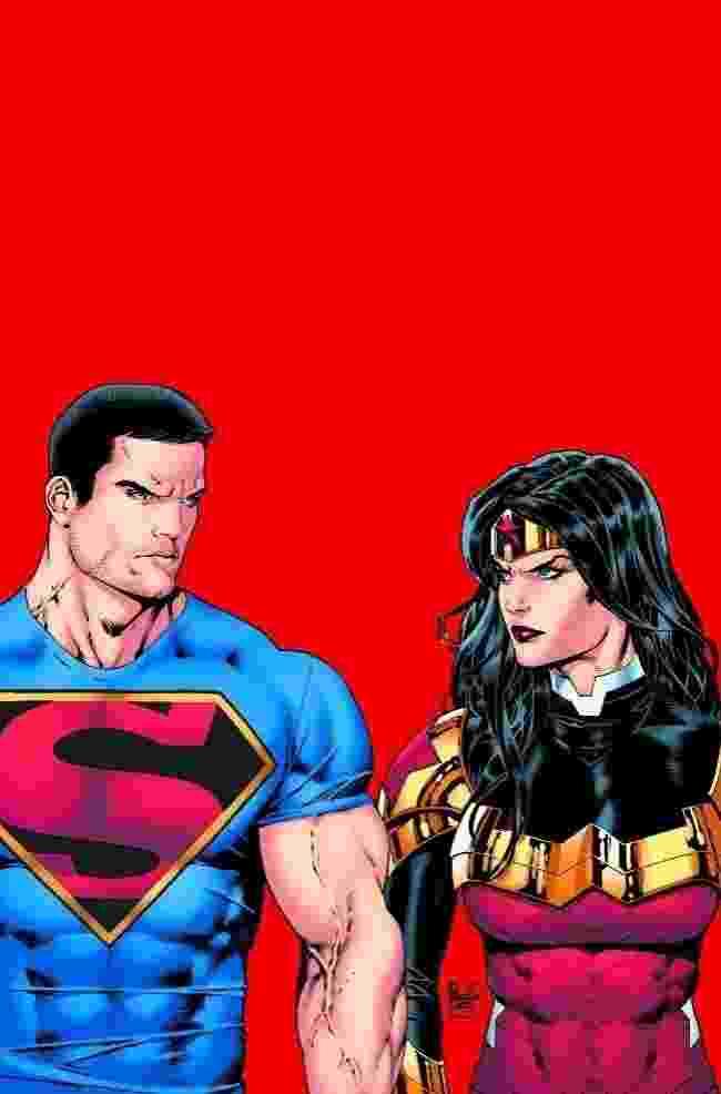 O Superman e a Mulher Maravilha mudaram radicalmente de visual para uma nova era nas histórias da DC Comics. As HQs chegam às bancas dos Estados Unidos em junho - Reprodução/Hitfix
