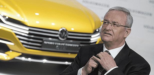 Presidente-executivo do Grupo Volkswagen, Martin Winterkorn - Jochen luebke/EFE - Jochen luebke/EFE