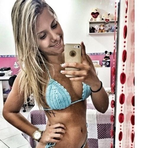 """13.mar.2015 - A carioca Andressa, que entrou no """"BBB15"""" para participar de uma brincadeira com os brothers, tem 20 anos e é estudante de odontologia"""